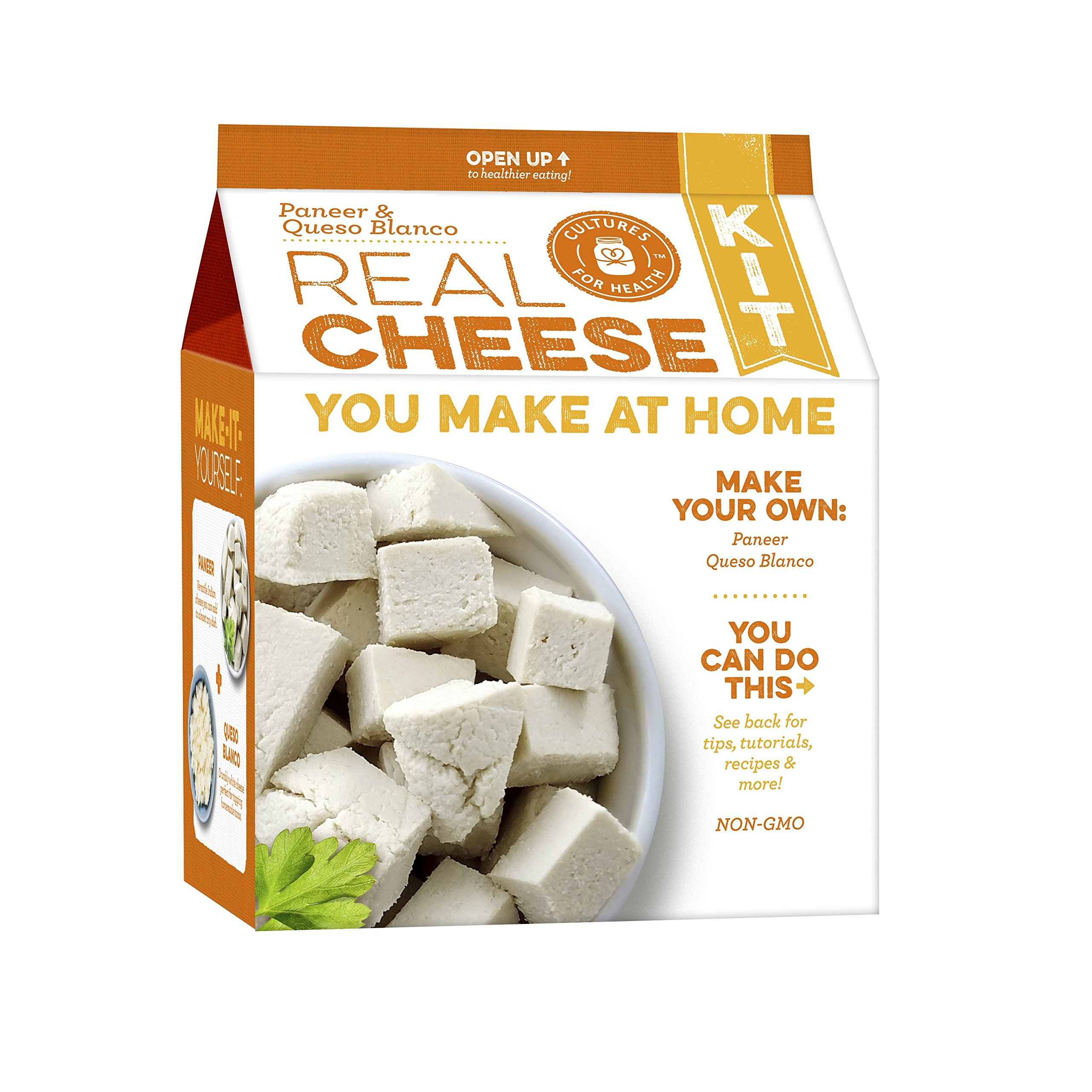 Paneer and Queso Blanco Cheesemaking Kit (Paneer & Queso Blanco Cheese Making Kit)