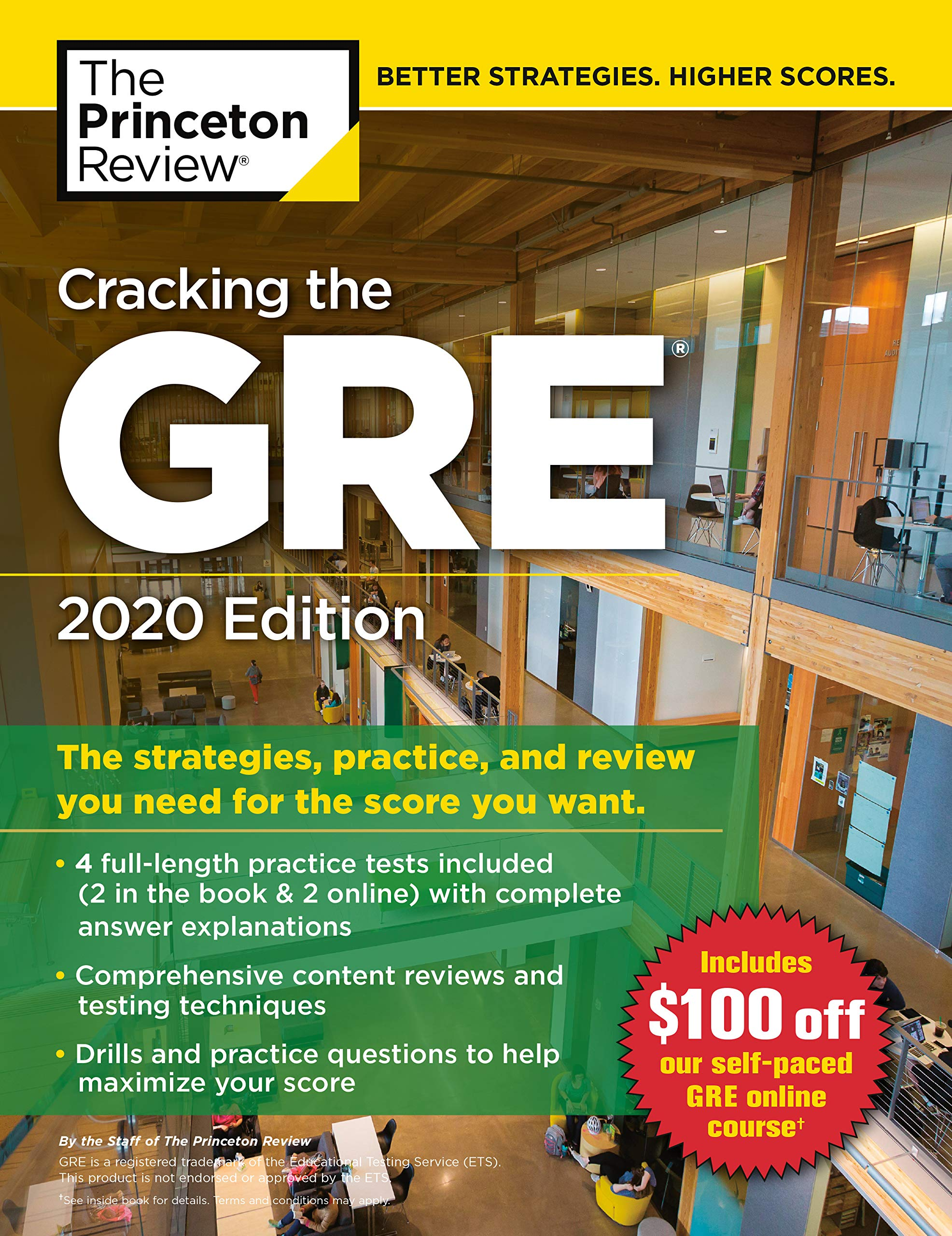 Cracking the GRE with 4 Practice Tests, 2020 Edition: The Strategies, Practice, and Review You Need for the Score You…