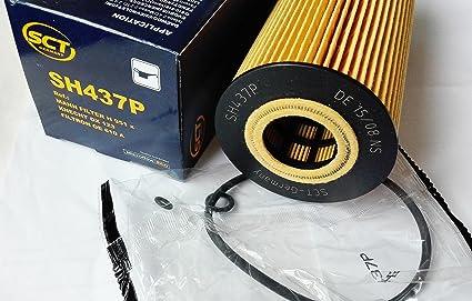 SCT Alemania Original de aceite SH 437 P: Amazon.es: Coche y ...