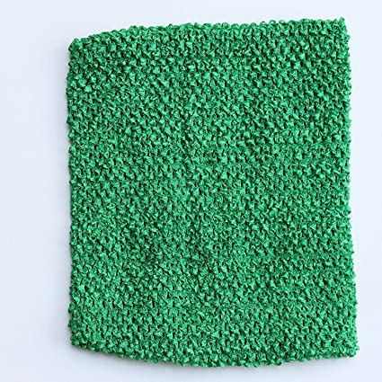 Amazoncom Green Crochet Tutu Top Lined 12 Inches X 10 Inches