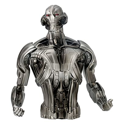 Marvel Ultron Bust Bank Action Figure: Toys & Games