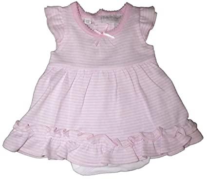 f246e8ec Baby Girls Babytown Summer Dress Built in Body Suit Floppy Hat Dusky Pink  Butterfly White Floral: Amazon.co.uk: Clothing