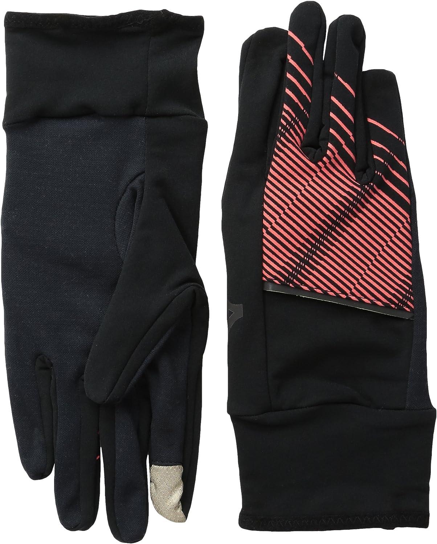Mizuno Unisex Breath Thermo Thermal Running Gloves Black Sports Warm