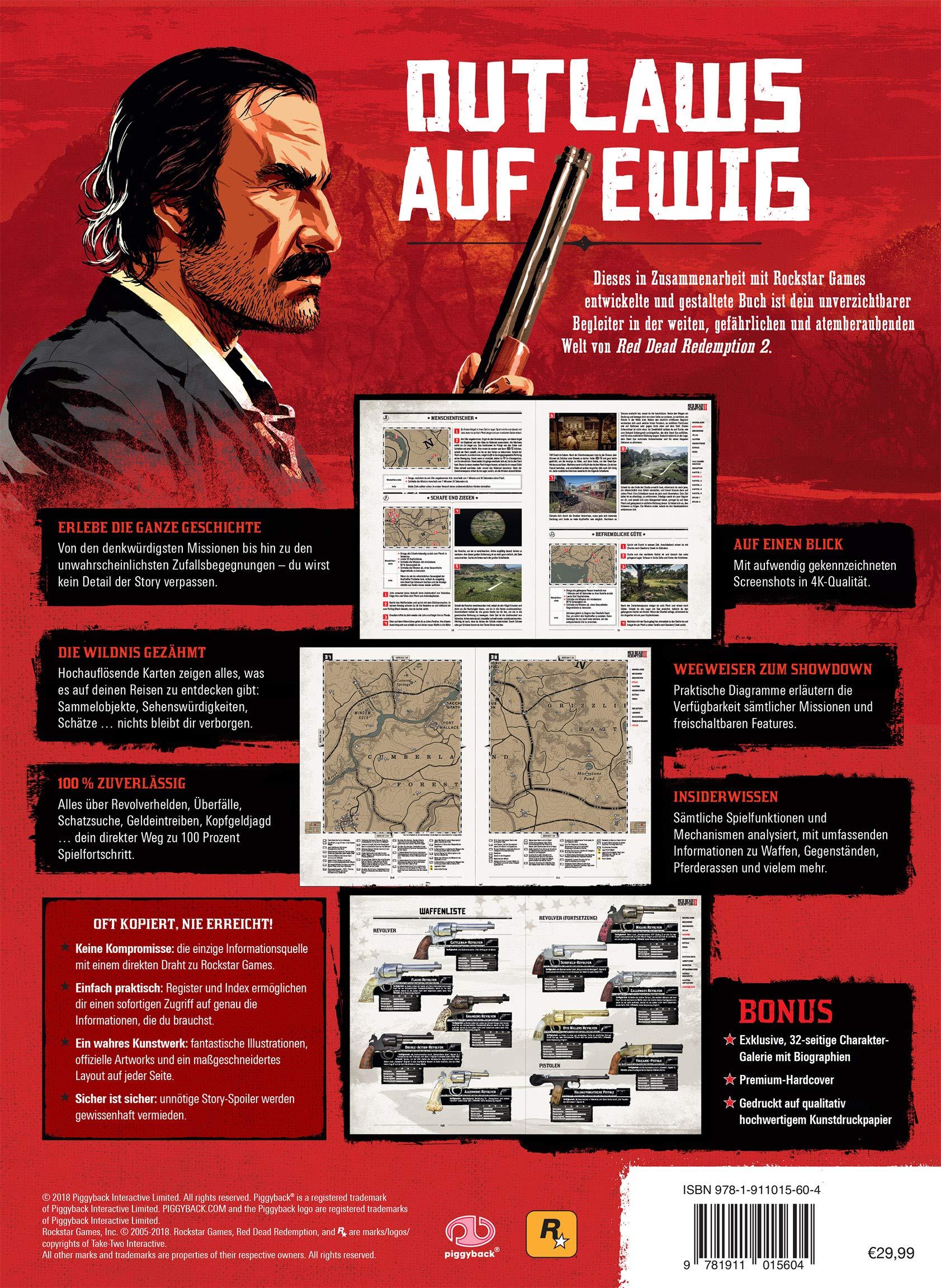 Red Dead Redemption 2 Ganze Karte.Red Dead Redemption 2 Das Offizielle Losungsbuch