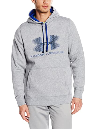 Under Armour Sudadera con Capucha Storm Rival Graphic Po Gris 3XL