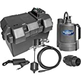 Wayne Esp15 Battery Back Up 12 Volt Sump Pump System