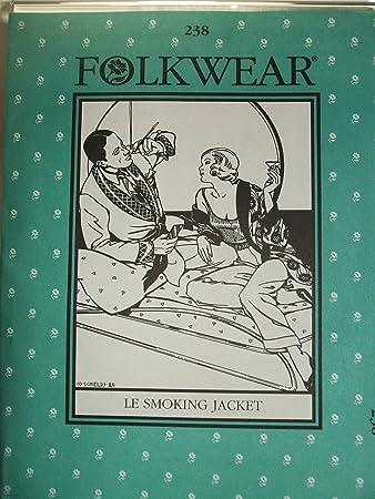 Folkwear 238 Le Hausjacke 1920\'s, 1930 Schnittmuster für Damen und ...
