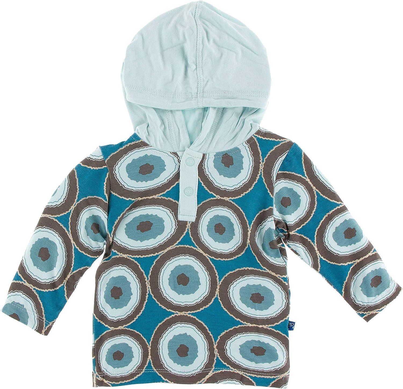 KicKee Pants Print Long Sleeve Hoodie Tee