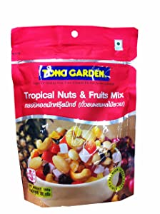 2 packs of Tropical Nuts & Fruits Mix, premium grade snack. by Tong garden. (180 g/ pack)