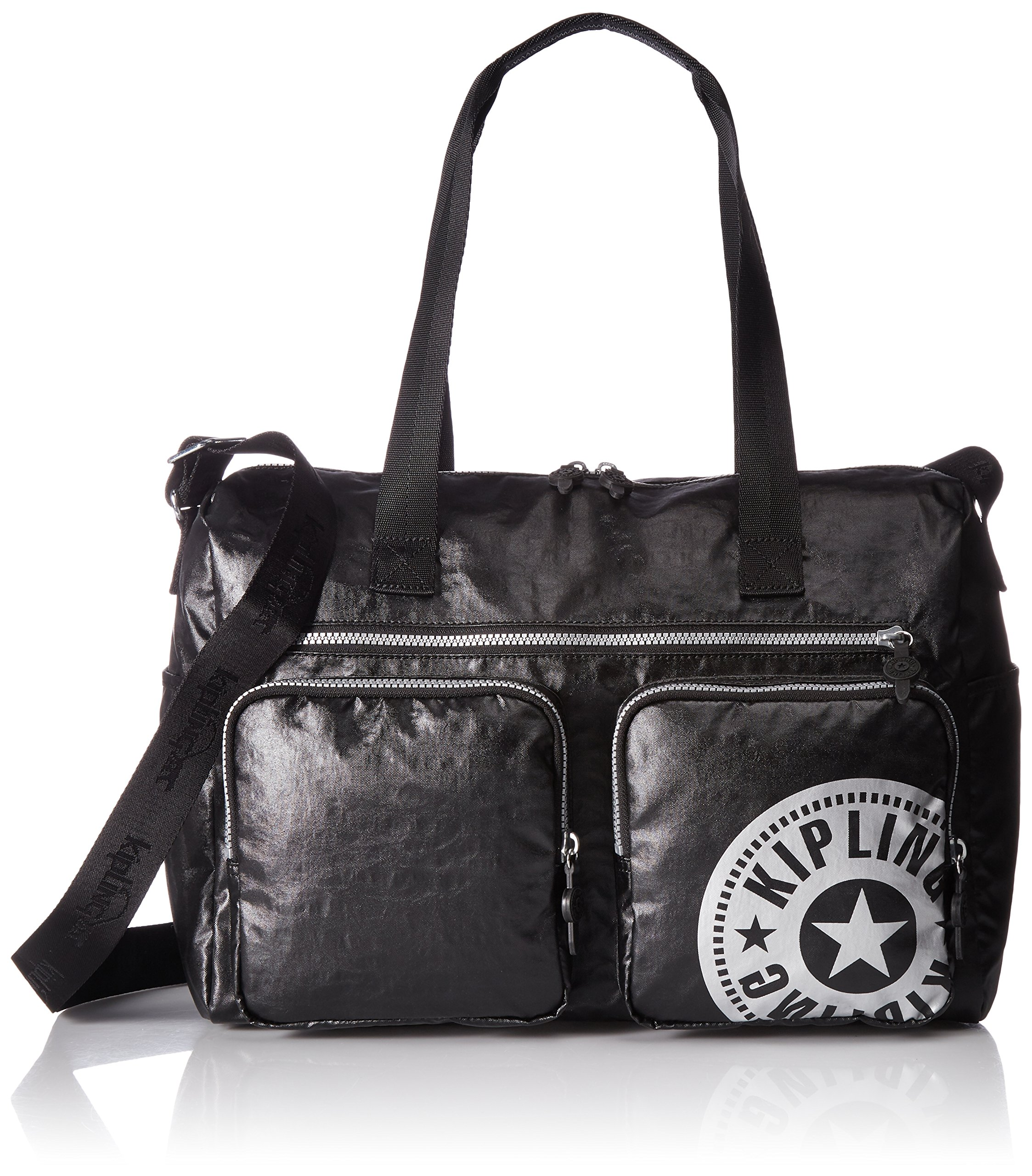 Kipling Stefany Lacquer Black Sport Tote, Lacqrblack by Kipling (Image #1)