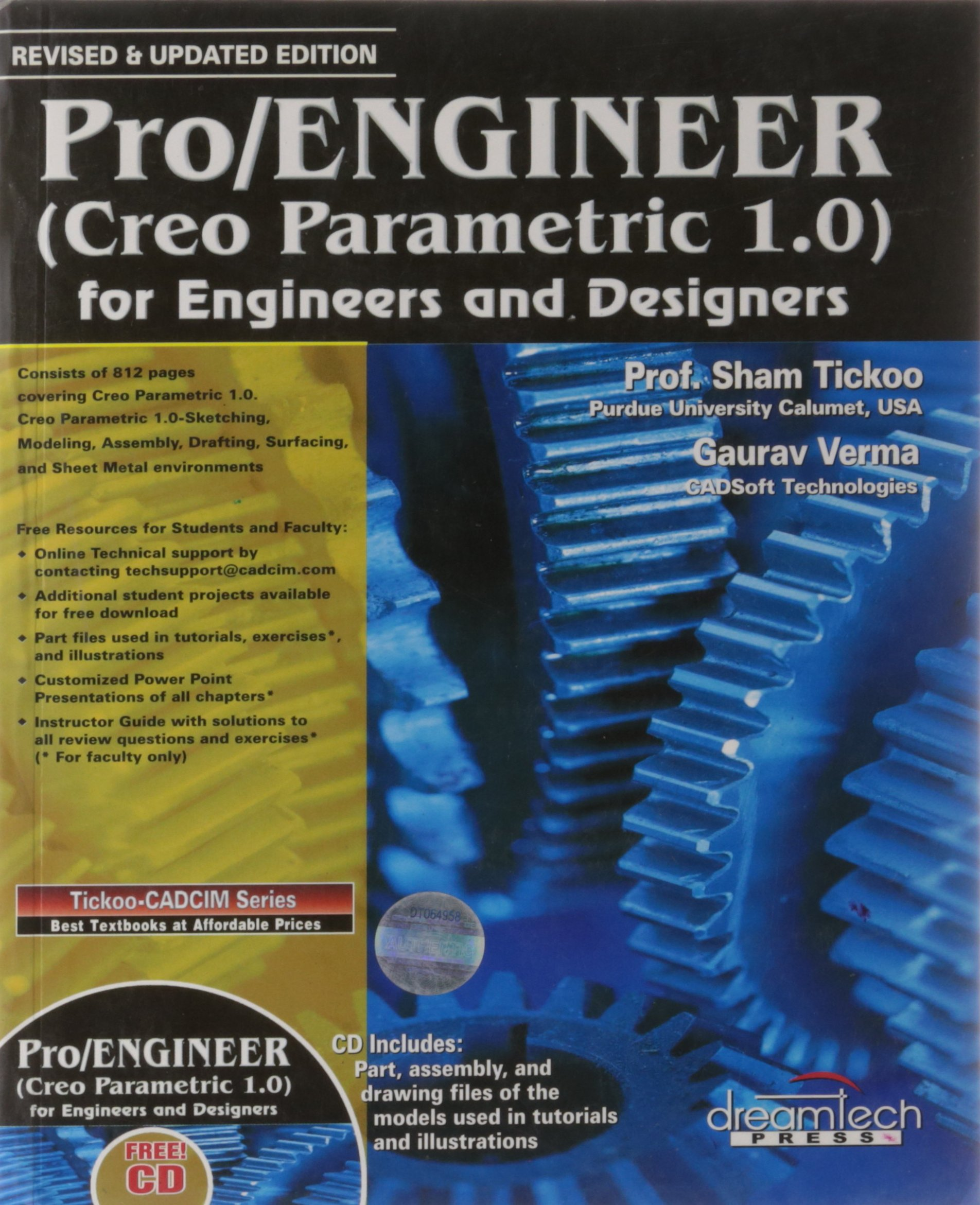 PRO/ENGINEER (CREO PARAMETRIC 1 0) FOR ENGINEERS AND