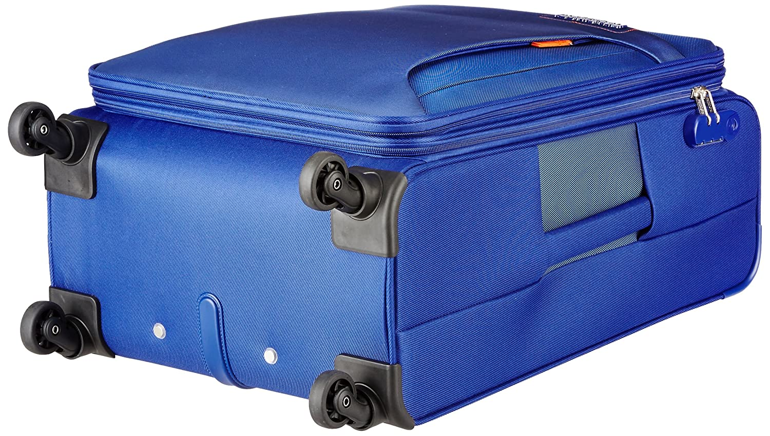 American Tourister Troy Polyester 68 Cms Royal Blue Softsided