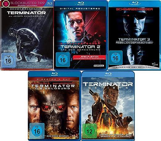 Terminator - Blu Ray - Box