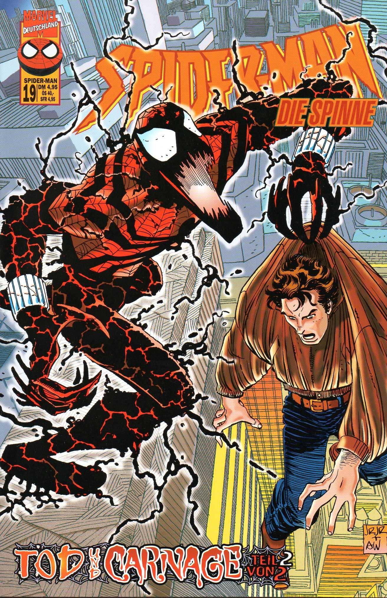 *Verlagsvergriffen* DISNEY MARVEL Comic SPIDER-MAN # 19: Böses im Blut! (Die Spinne) Comic – 1998 Panini B00NRRM6MS Belletristik - Comic Cartoon