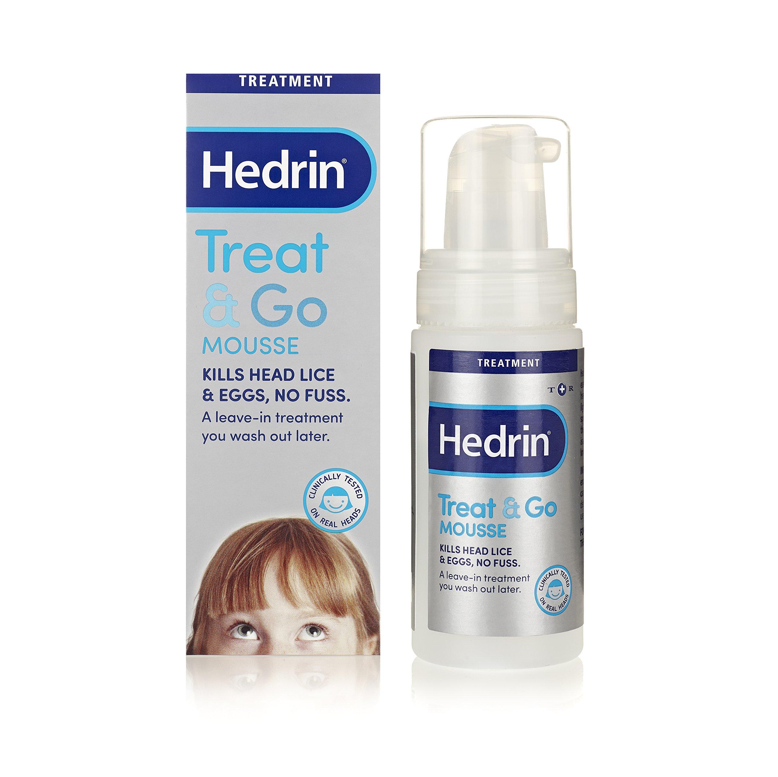 Hedrin Treat & Go Mousse - Fuss Free Head Lice Treatment 100ml
