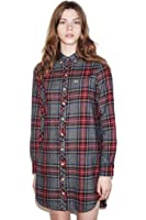 Fred Perry Women's Grey Stewart BF Fit Shirt Storm 12