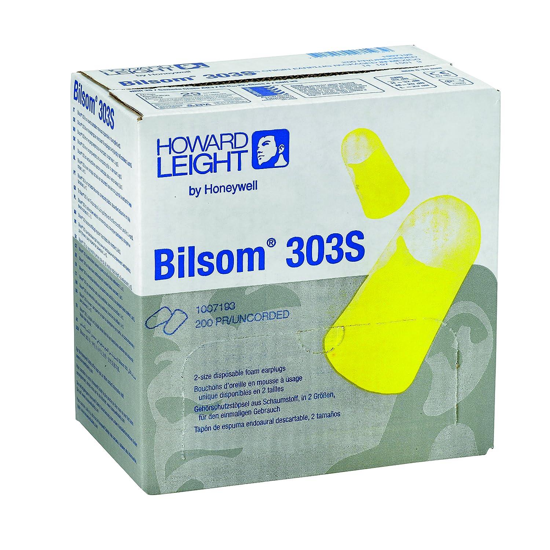 Howard Leight Laser Lite Ear Plugs 400 PAIRS 800 Plugs Comfortable Foam 2 BOXES