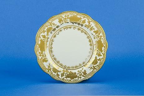 4 Shabby Chic Porcelain 5.9\u0027\u0027 Hammersley \u0026 Co Floral Dinner PLATES Edwardian Vintage Service & Amazon.com | 4 Shabby Chic Porcelain 5.9\u0027\u0027 Hammersley \u0026 Co Floral ...