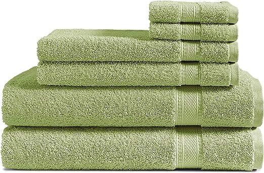 3 Piece Set of Large Bath Hand Face Towels Sheets 100/% Organic Cotton 500 GSM