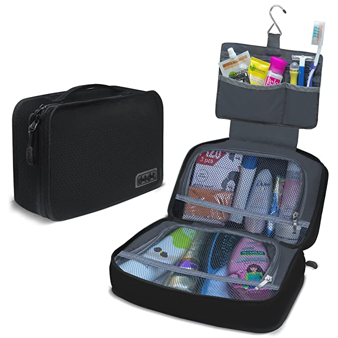 3d5cafbd Dot&Dot Hanging Toiletry Bag for Men, Women and Kids - Organizer for Travel  Accessories and Toiletries