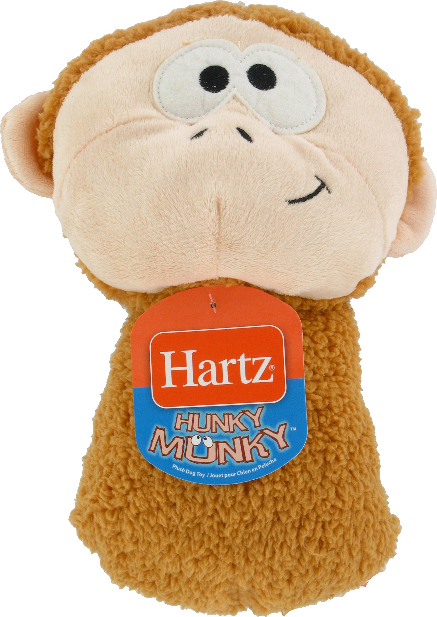 HARTZ Hunky Munky Plush Dog Toy (Colors Vary)