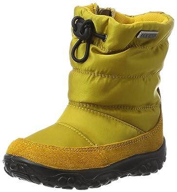 Naturinonaturino POZNURR - Botines de Senderismo Unisex bebé, Color Amarillo, Talla 25: Amazon.es: Zapatos y complementos