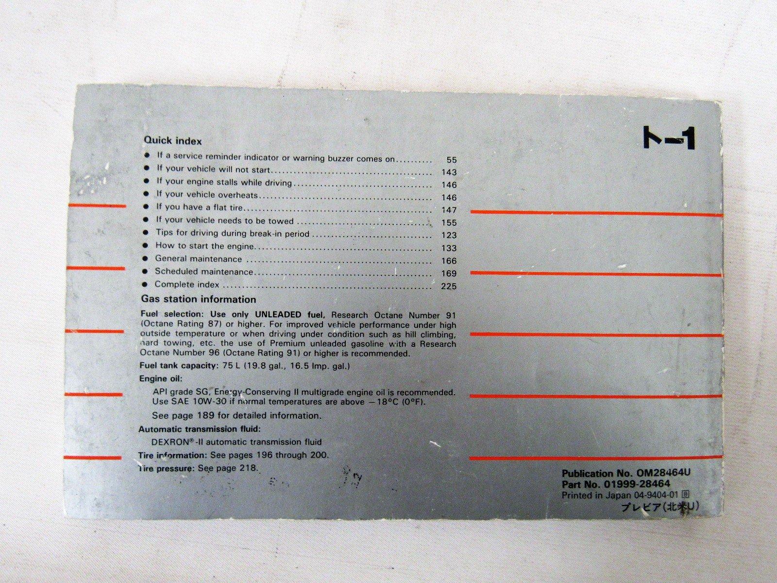 1993 toyota previa owners manual online user manual u2022 rh pandadigital co 1992 Toyota Previa Gas Mileage 1992 Toyota Previa Interior