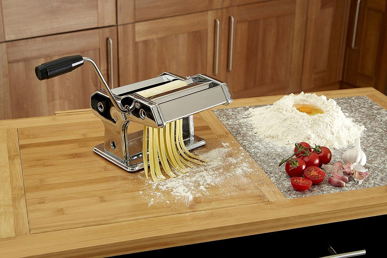 Orange Premier Housewares Stainless Steel Pasta Maker