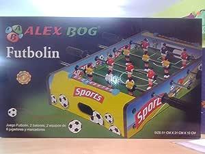FUTBOLIN ALEX BOG: Amazon.es: Juguetes y juegos