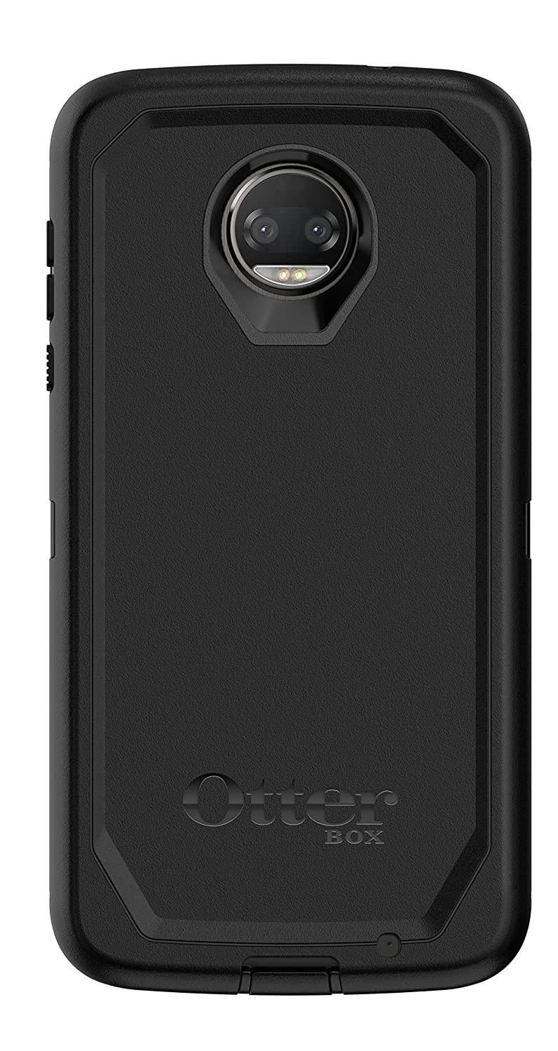 various colors 2ff40 87264 OtterBox Defender Series Case for Moto Z2 Force Edition - Retail Packaging  - Black