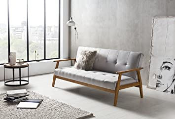SalesFever Design-Schlafsofa, Sofa-Bett im skandinavischen Stil ...