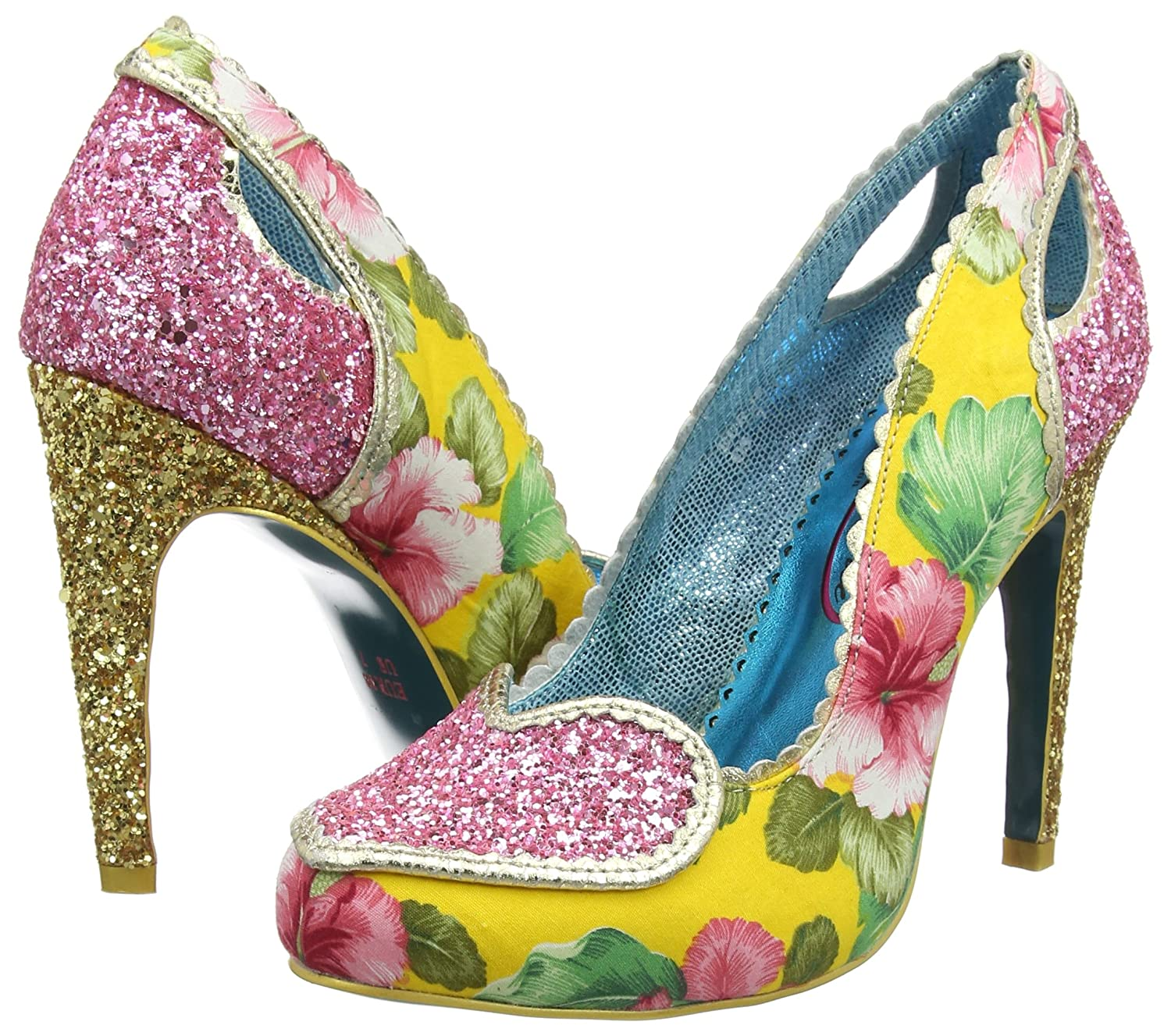 Poetic Licence by Irregular Choice Damen Loren Love Pumps Pumps Pumps 6cdf32