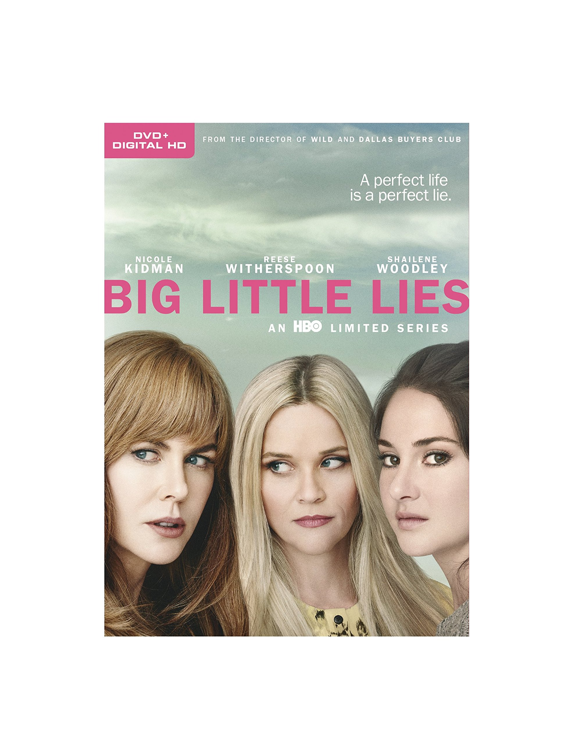 DVD : Big Little Lies: Season 1 (Full Frame, Ultraviolet Digital Copy, 3 Pack, Eco Amaray Case, Dolby)