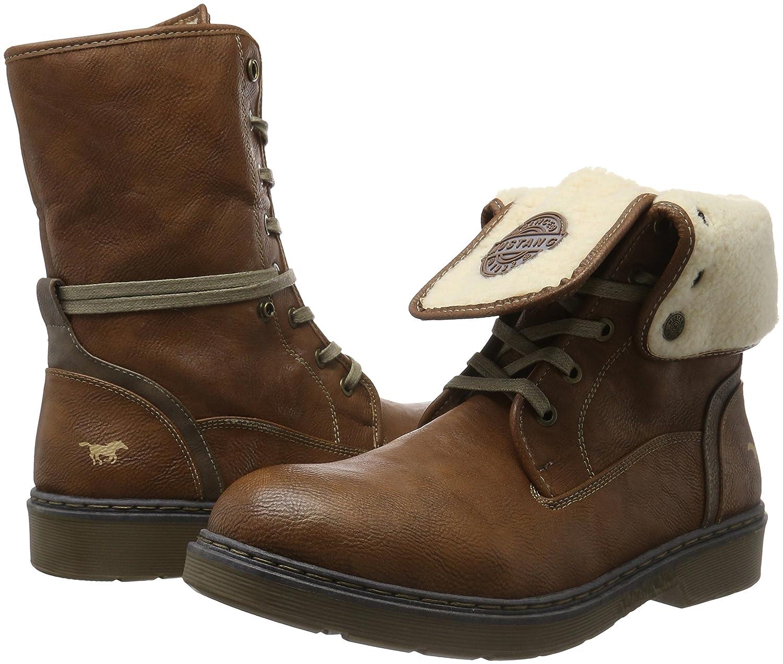 Mustang Herren 4109 601 Kurzschaft Stiefel: Schuhe & Handtaschen
