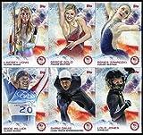 2014 Topps US Winter Olympic Complete 100-Card Base Set..Vonn, Miller, Jone