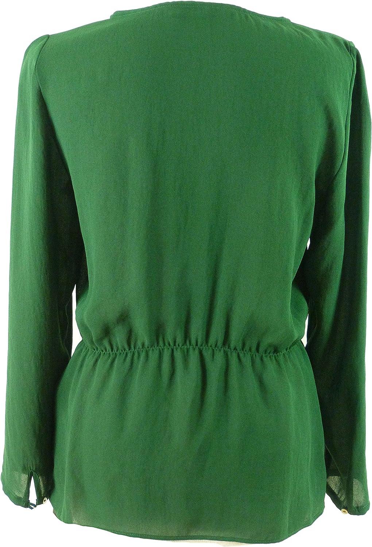 Zara - Camisas - Básico - Clásico - para mujer Verde verde 38 ...