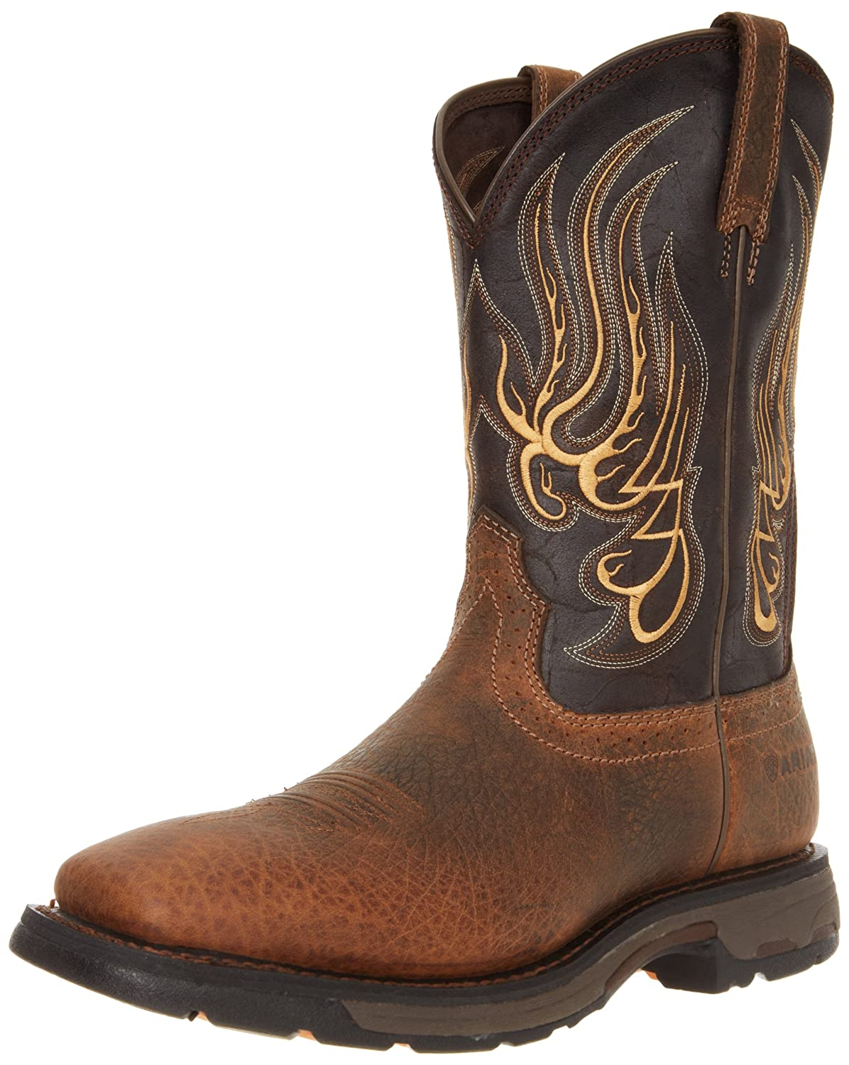Ariat Men S Workhog Mesteno Wide Square Toe Work Boot