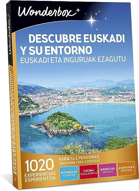 WONDERBOX Caja Regalo -DESCUBRE EUSKADI Y SU Entorno- 1.020 ...