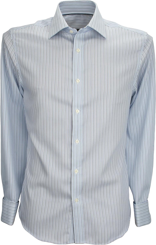 Ex Store - Camisa formal - Rayas - Cutaway - para hombre Azul ...