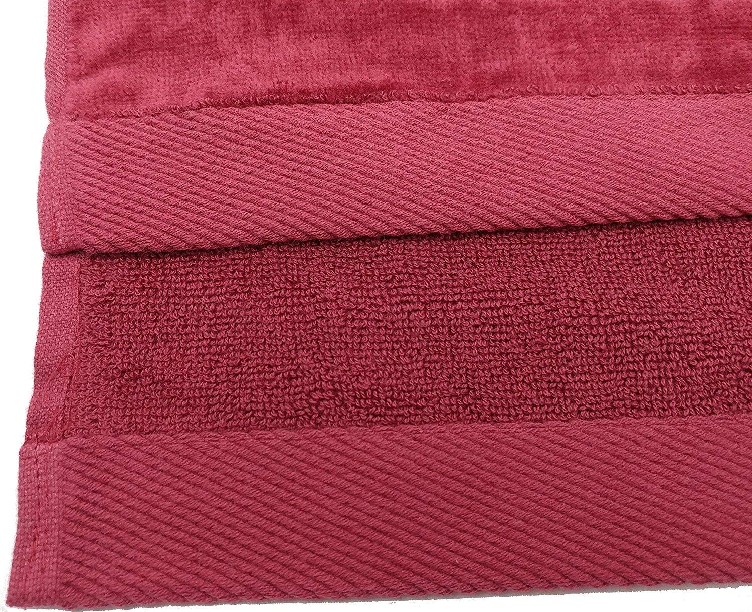 Set of 6 Fuchsia RobeSale Terry Cotton Hand Towels