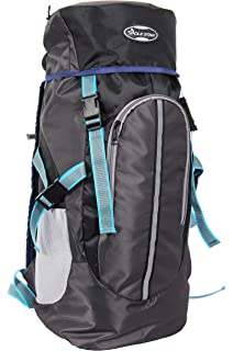 114a40c1018 POLE STAR Hike Grey Rucksack Backpack Bag Trekking Hiking BAGPACK with RAIN  Cover