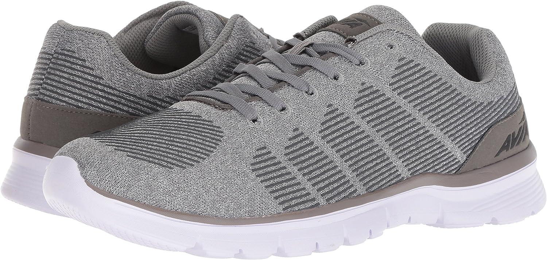 Avia Mens Avi-Rift Running Shoe, Frost Steel Grey/Black, 13 M US: Amazon.es: Zapatos y complementos