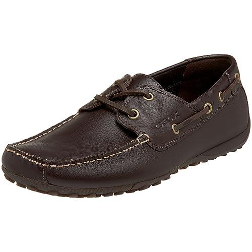 Geox MSNAKEMOC0002 - Mocasines de cuero para hombre, color marrón, talla 43: Amazon.es: Zapatos y complementos