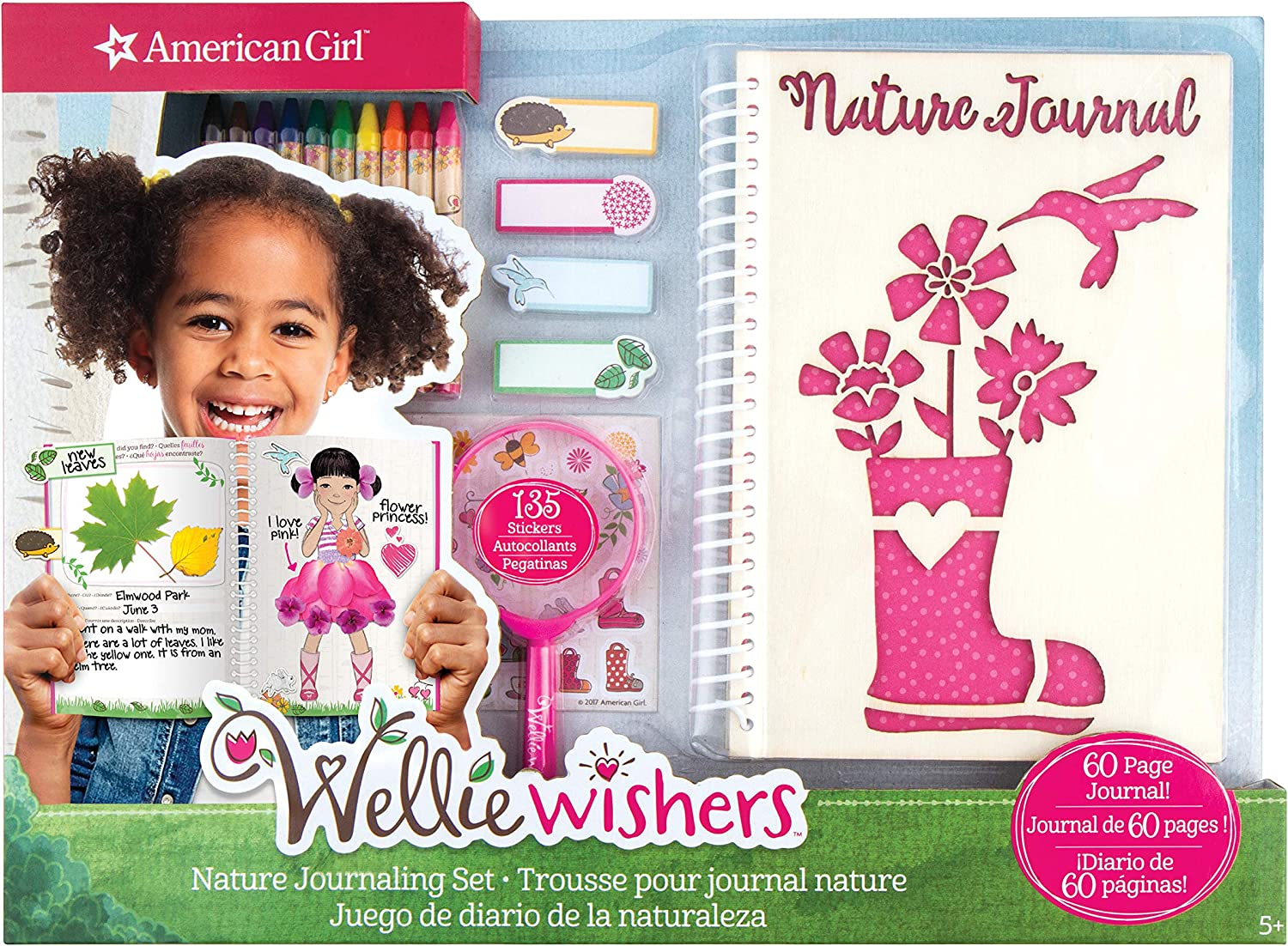 American Girl Wellie Wisher Nature Journaling Set