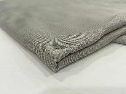 jwtextec plata con tejido 55% plata Cable de RFID bloqueo de tela tejido antiestático para