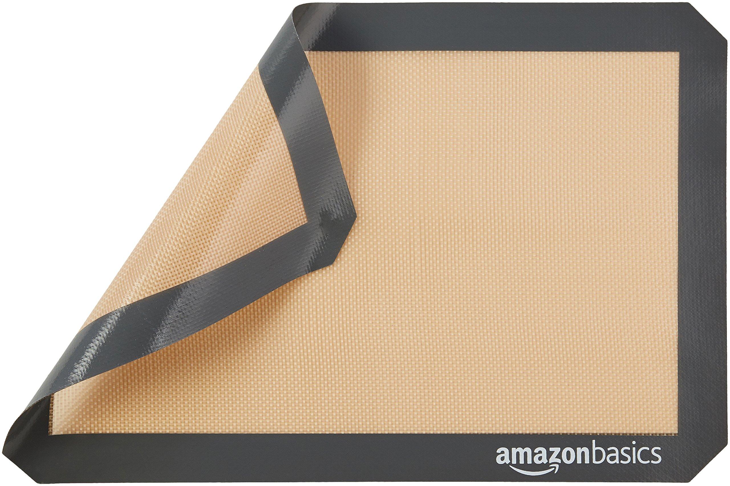 AmazonBasics Silicone Baking Mat - 3-Piece Set by AmazonBasics (Image #3)