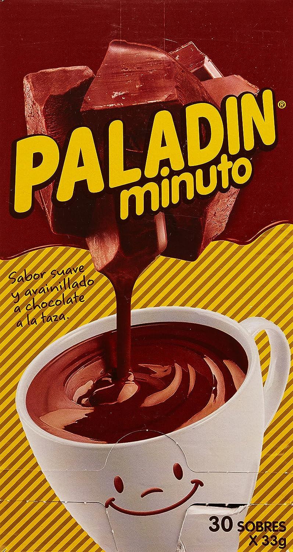 Paladin Chocolate Instante - Paquete de 30 x 33 gr - Total: 990 gr: Amazon.es: Alimentación y bebidas