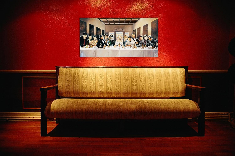 100 x 1.8 x 50 cm Casaro Invitation- Multicolore Legno ArtPlaza AS10150 Pannello Decorativo