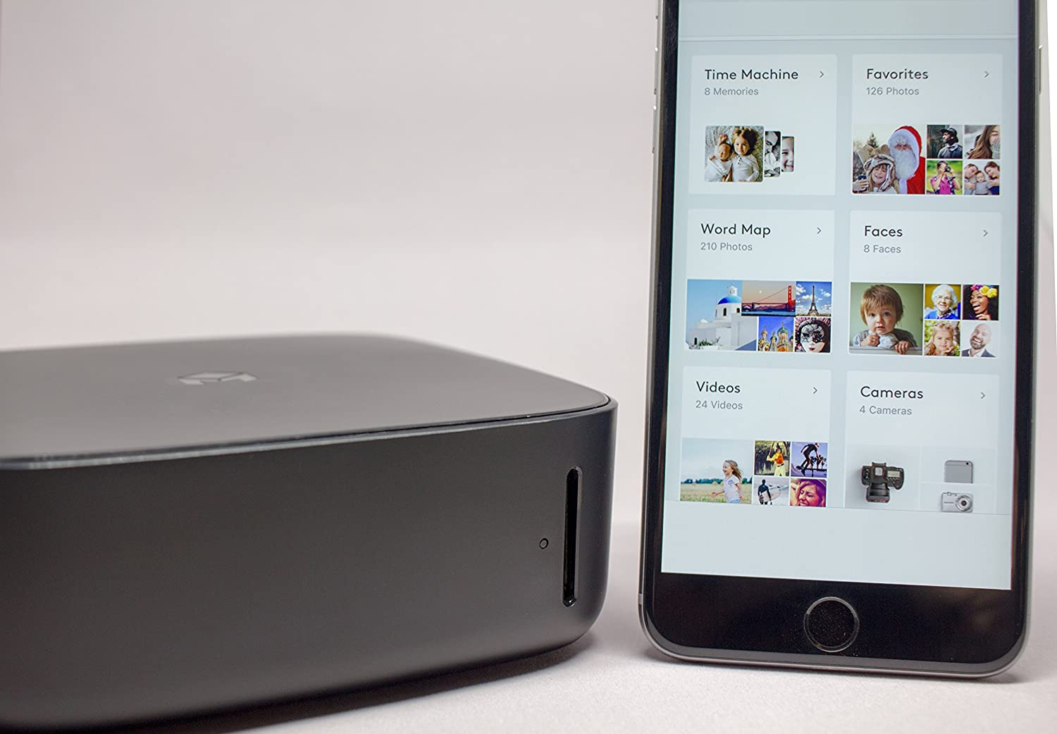 1TB Storage Included Smart Photo and Video Storage Device