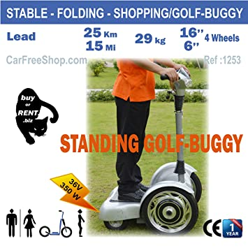carfreeshop 1253 GOLF-BUGGY ELECTRIC POWERED SCOOTER - STABLE ... on segway car, segway army, segway brands, segway centaur, segway quad, segway scooter, segway board, segway tank, segway atv, segway club, segway fleet, segway tours san diego, segway hoverboard, segway fail, segway with tracks, segway snow plow, segway like devices, segway tires, segway craigslist,